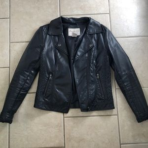 American rag leather jacket